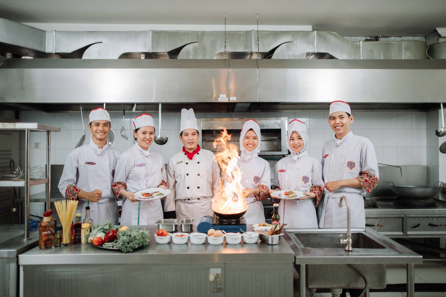Politeknik Pariwisata Prima Internasional. (Food and Beverage Product) (Kitchen)