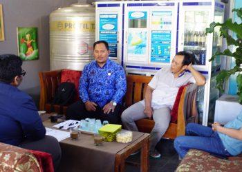 FGD dengan pemerintah desa Cisantana Kabupaten Kuningan.