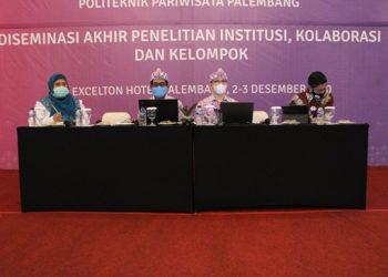 Diseminasi Akhir Penelitian di Politeknik Pariwisata Palembang