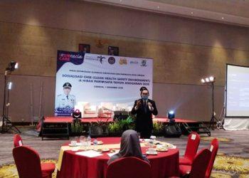 Dr. Chondro Suryono, Menjadi Narasumber tentang Sosialisasi CHSE Hibah Pariwisata tahun anggaran 2020 Di hotel-hotel kota Cirebon